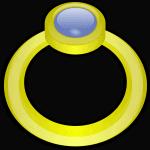 טבעת מצוירת